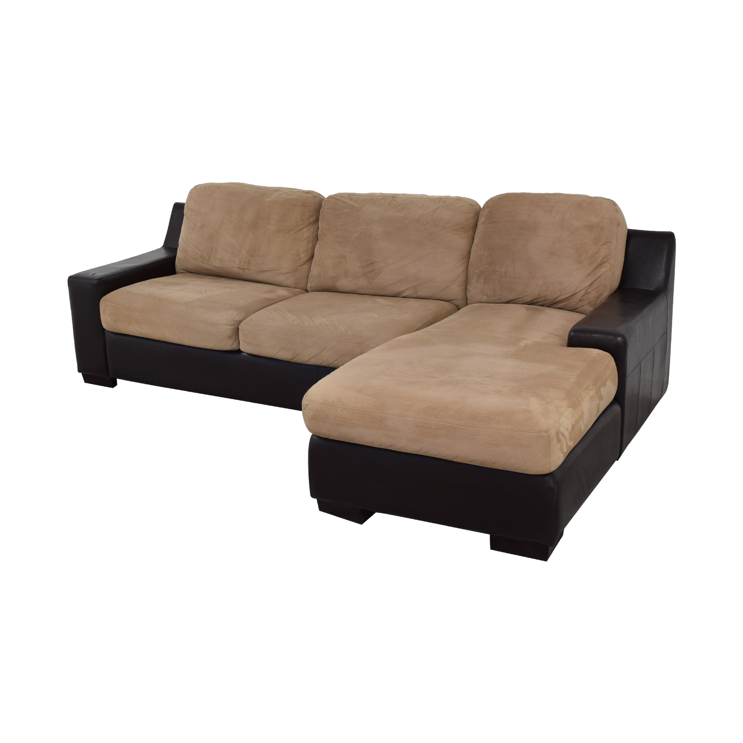 85 off wayfair red barrel studio swinyer two toned sectional sofas