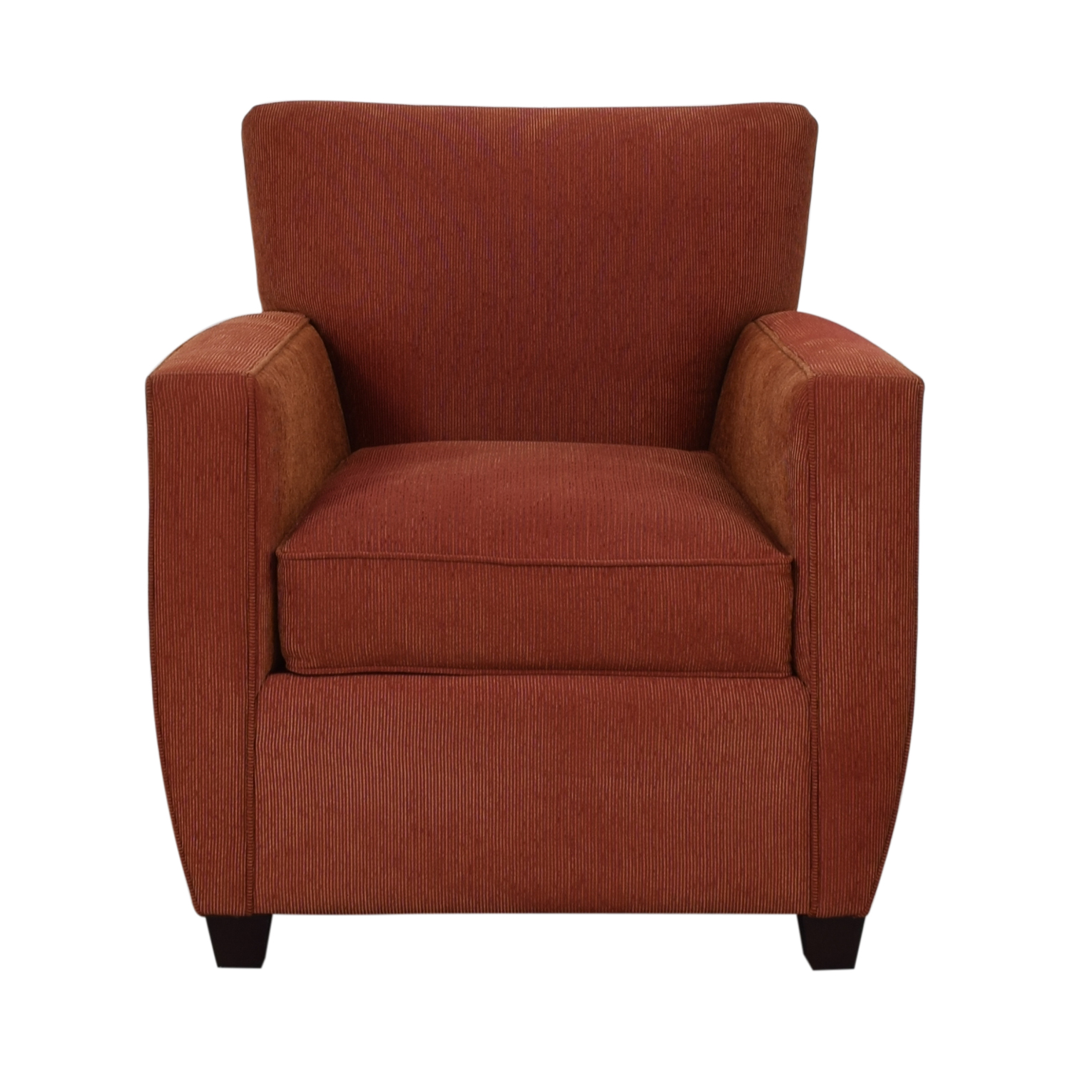 86 Off Crate Barrel Crate Barrel Chili Red Accent Chair Chairs