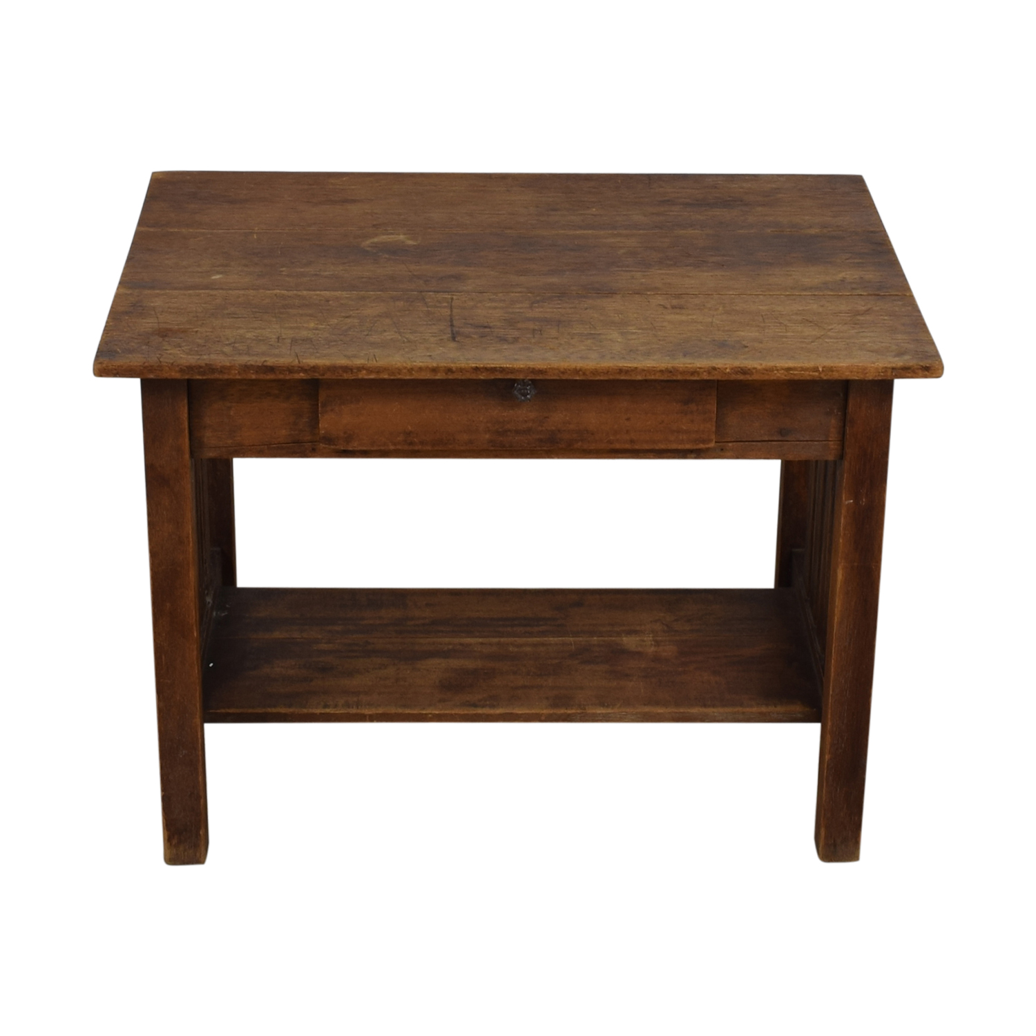82 Off Mission Style Single Drawer Desk Tables