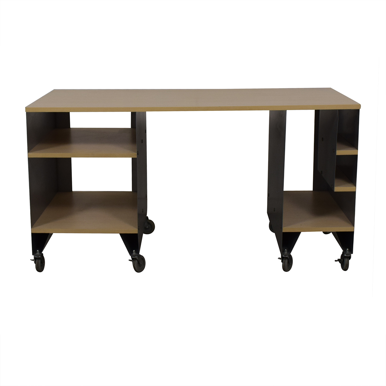 76 Off The Container Store The Container Store Rolling Desk Tables