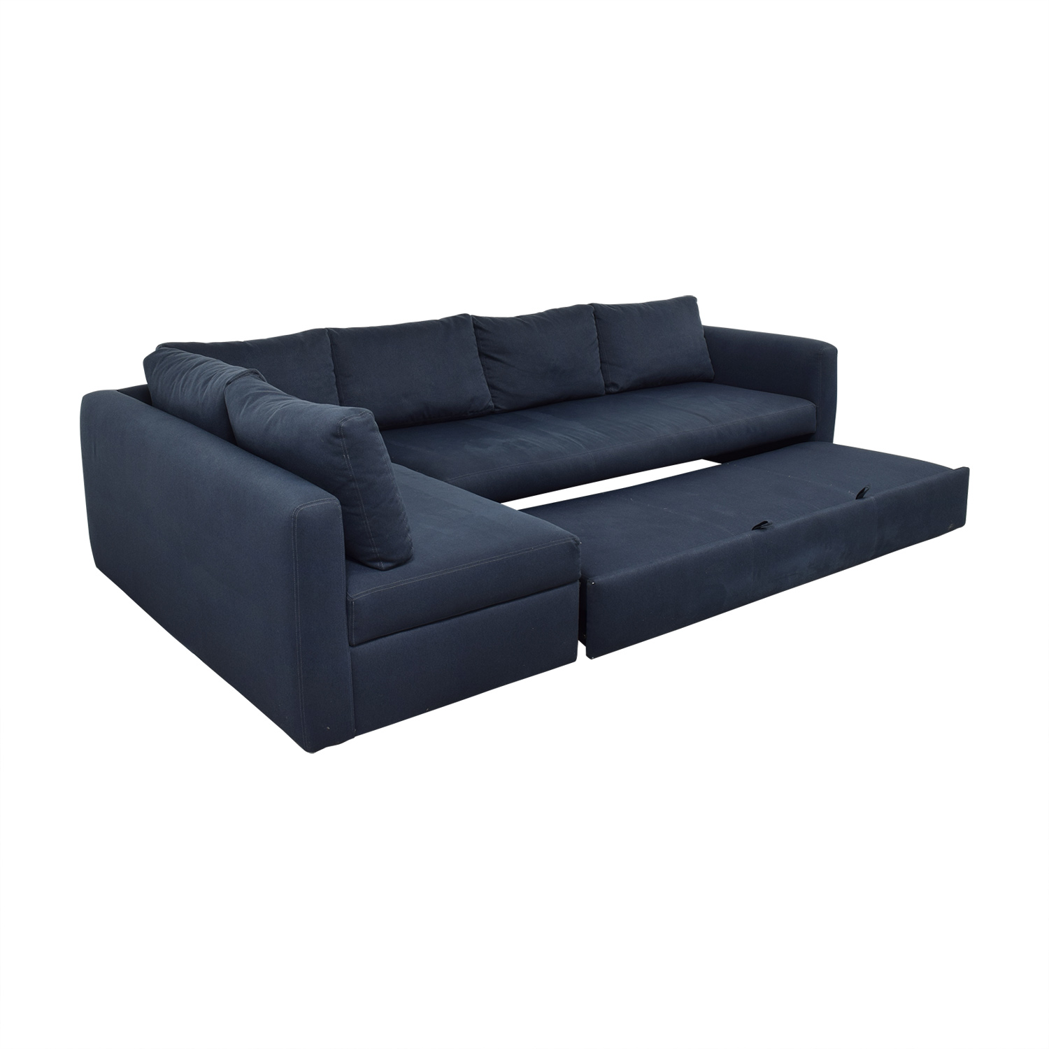 76 off room board room board sectional sleeper sofa sofas
