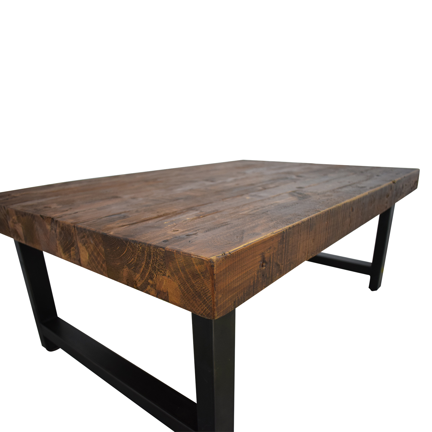 69 off pottery barn pottery barn griffin reclaimed wood coffee table tables