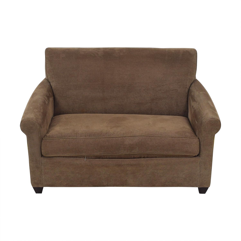 90 off crate barrel crate barrel hayward twin sleeper sofa sofas