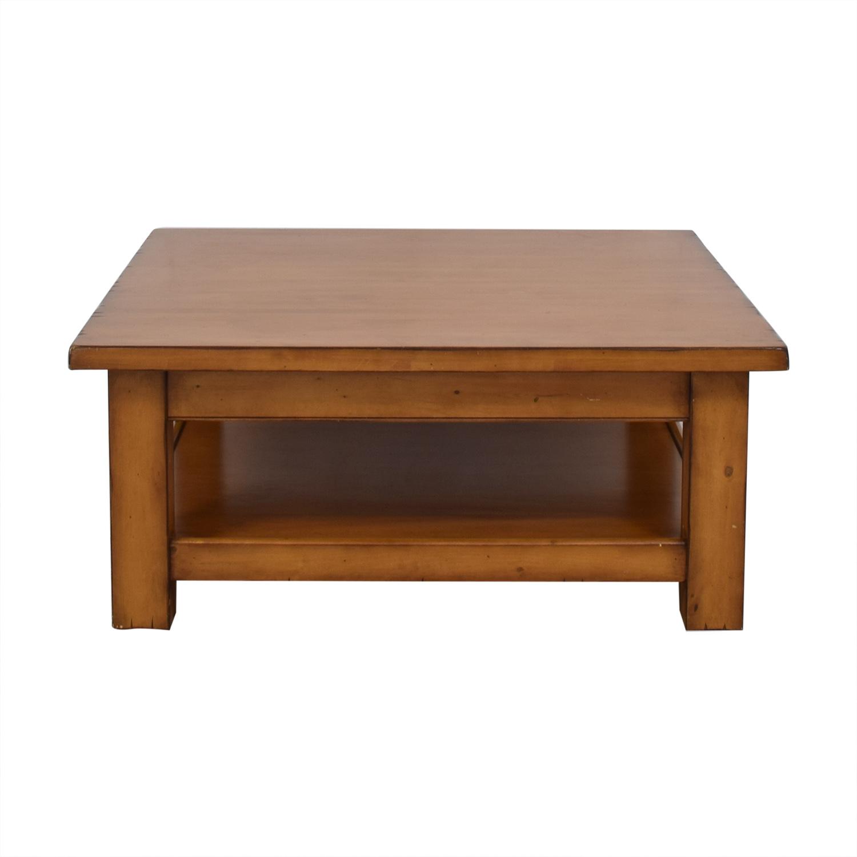 75 off pottery barn pottery barn morgan coffee table tables