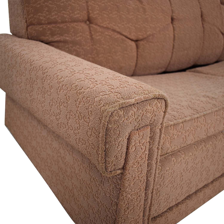 90 Off Vintage Mid Century Modern Sleeper Sofa Sofas