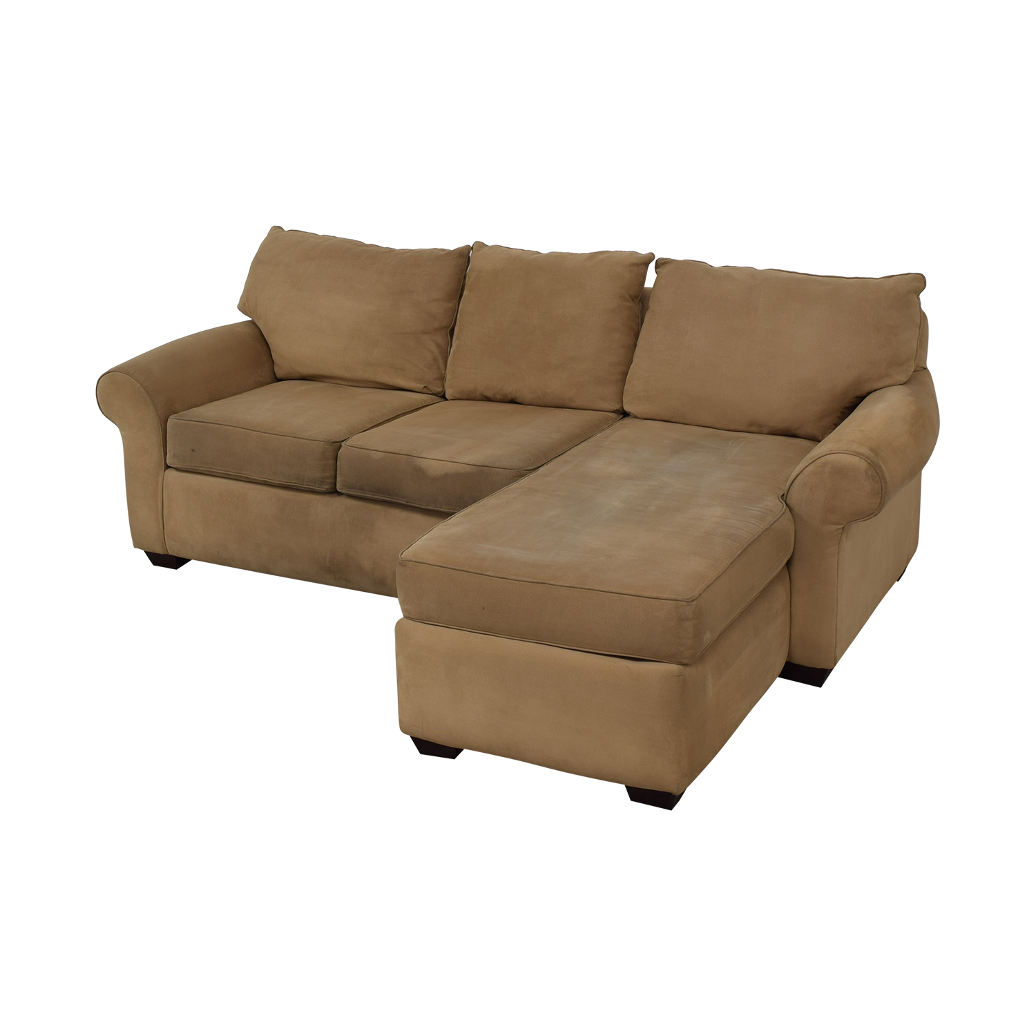 60 Off Sectional Right Side Chaise Sofa Sofas