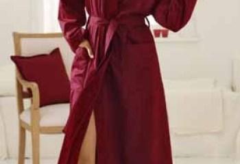 Как сшить халат с запахом