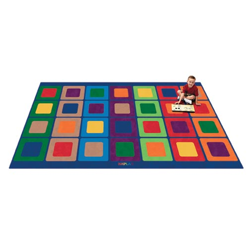 kaplan seating squares carpets