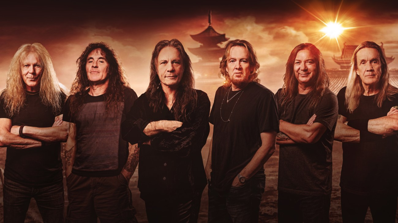 """Iron Maiden announce new album, Senjutsu: """"The songs are very varied, and  some of them are quite long"""" — Kerrang!"""