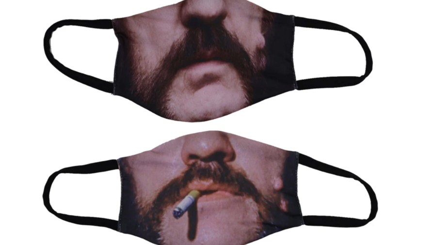 The Ace Of Spreads: Motörhead Have Released Three Lemmy Face Masks —  Kerrang!