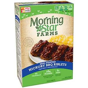 Morningstar Farms Hickory BBQ Riblets