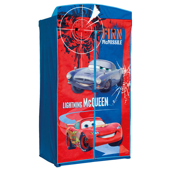 armoire en toile cars worlds apart king jouet decoration de la