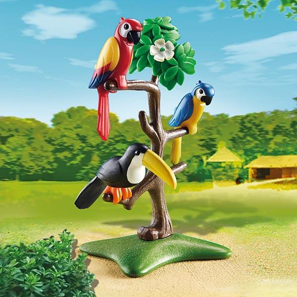 6653 Perroquets Et Toucan Playmobil City Life Playmobil