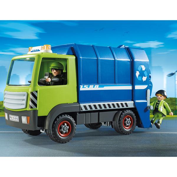 6110 Camion De Recyclage Ordures Playmobil Playmobil