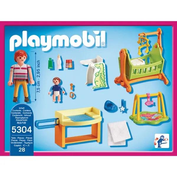 5304 Chambre De Bb Playmobil Dollhouse Playmobil