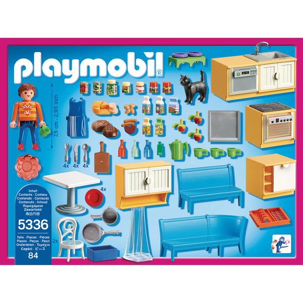 5336 Cuisine Avec Coin Repas Playmobil Dollhouse
