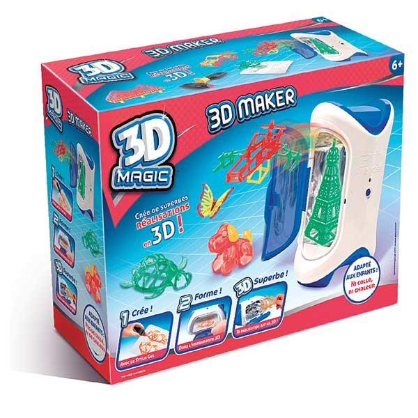 Imprimante Magic 3D Maker Canal Toys King Jouet Dessin