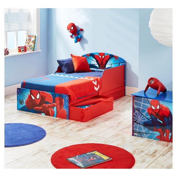 lit spiderman avec rangement worlds apart king jouet decoration de la chambre worlds apart fetes deco mode enfants