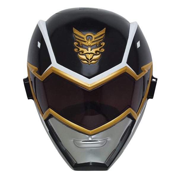 Masque MgaForce Power Rangers Noir Bandai King Jouet