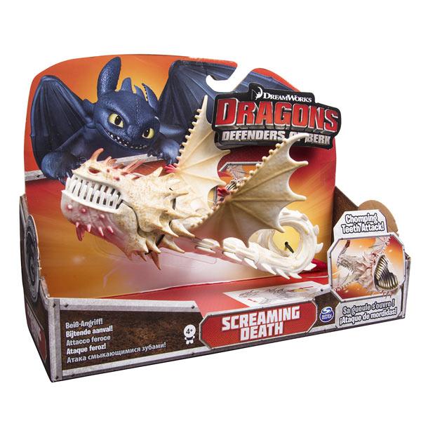 Figurine Daction Dragons CRIEUR DE LA MORT Spin Master