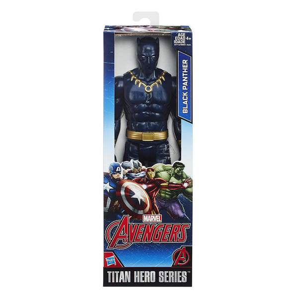 Figurine Avengers 30cm Black Panther Hasbro King Jouet