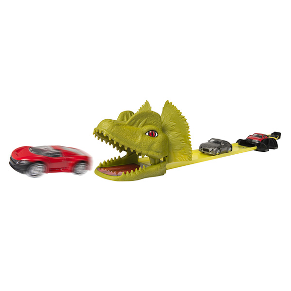 piste pour voitures dino attack
