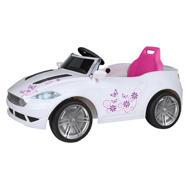 voiture electrique 6v blanche