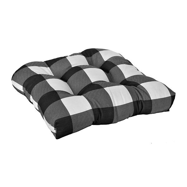 white buffalo check outdoor cushions set of 2