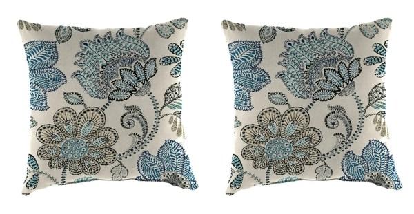 denim busan outdoor pillows set of 2