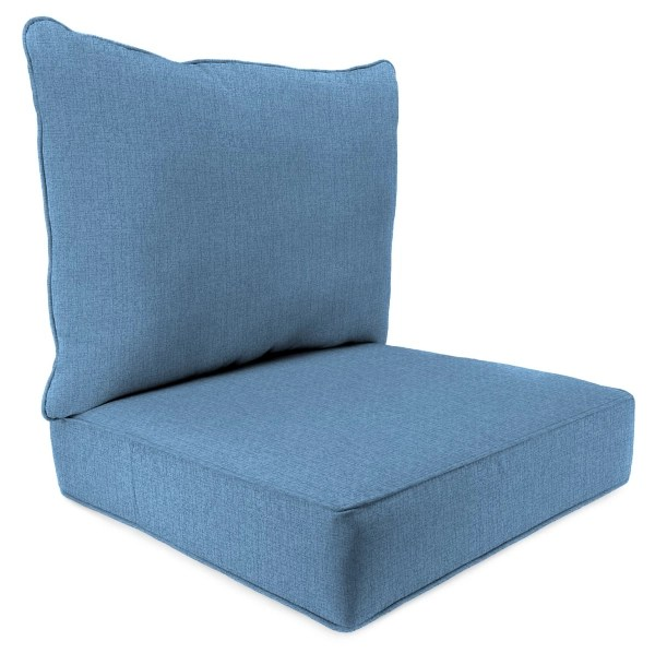 chambray mchusk 2 pc outdoor deep seat cushion