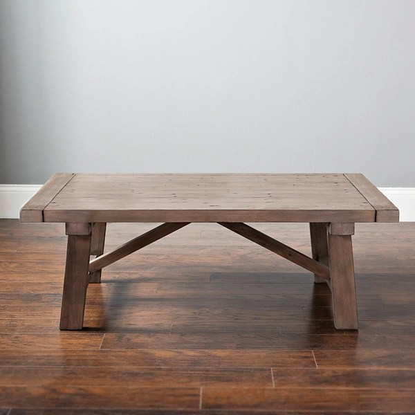 reclaimed ash wooden coffee table