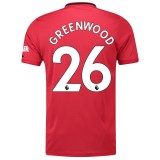 Manchester United Home Shirt 2019 - 20 with Greenwood 26