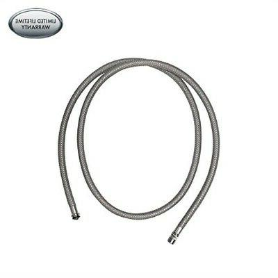 hansgrohe 88624000 pull down kitchen faucet hose chrome tools home improvement faucet spray hoses