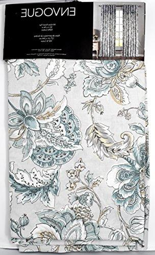 envogue window curtains turquoise