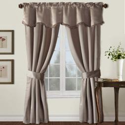 48 inch by 84 inch american curtain and home tina window curtain multicolor home decor panels