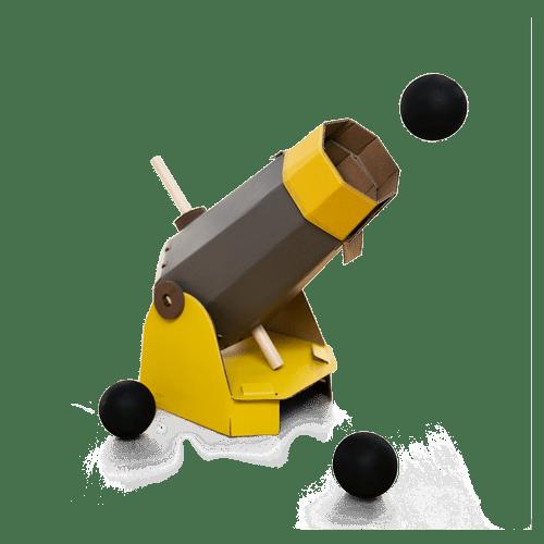 KiwiCo Cannonball Launcher Project Kit