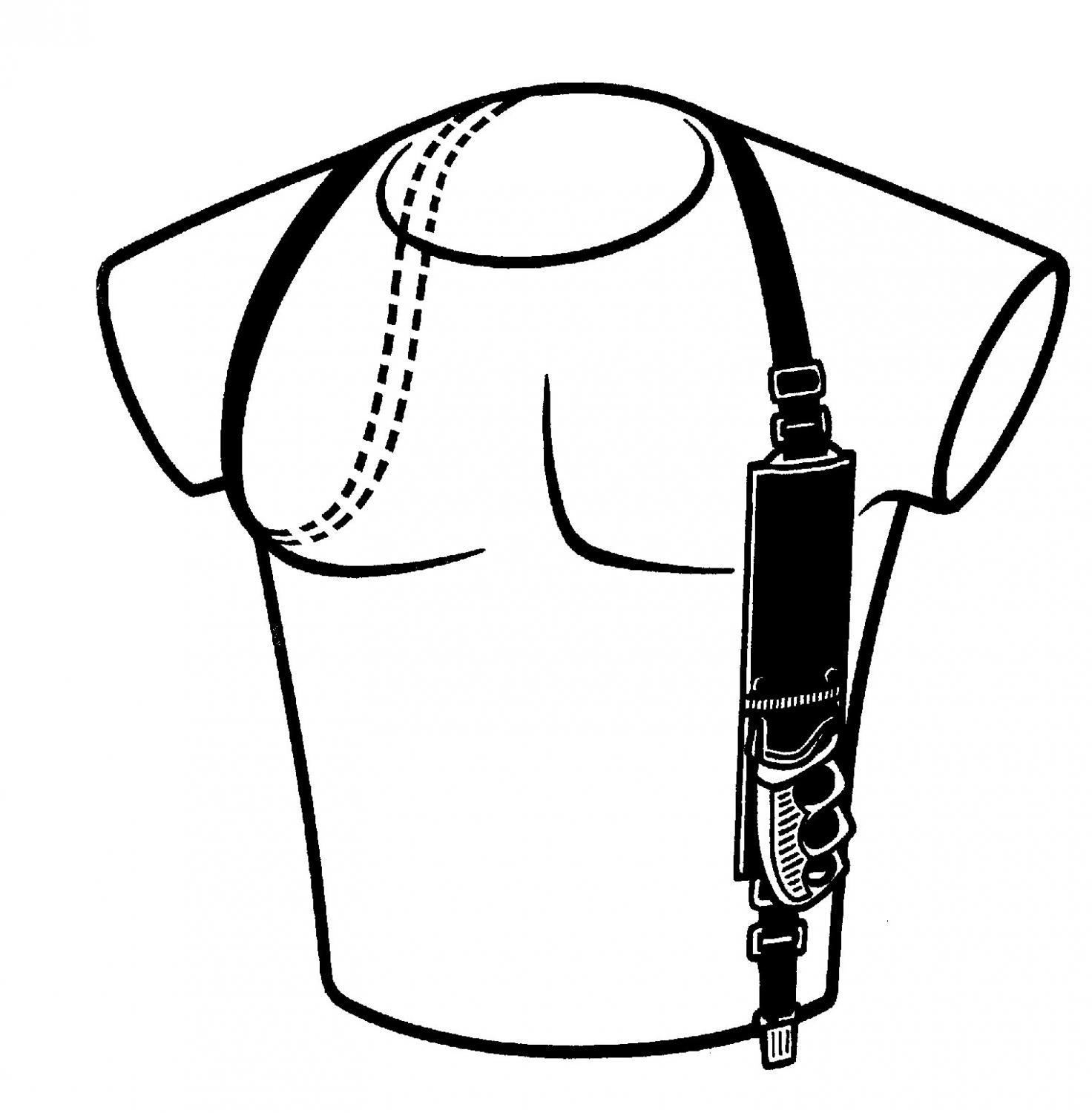 Knife Shoulder Harness
