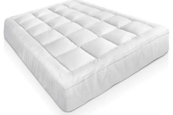 Goose Down Feather Mattress Topper Double