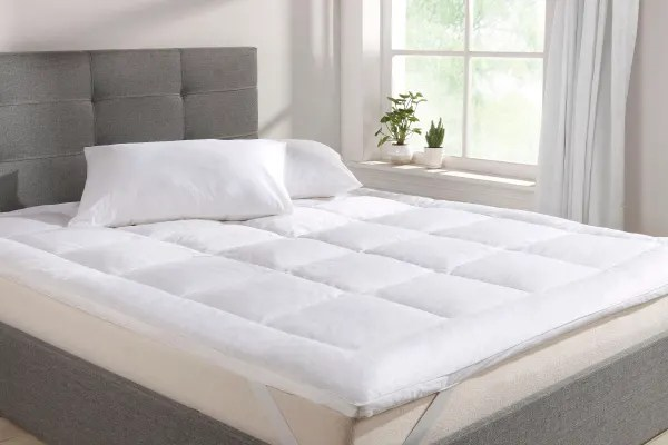 Ovela Goose Down And Feather Mattress Topper Queen