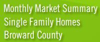 Real Estate Statistics Florida Broward county Single Family Homes