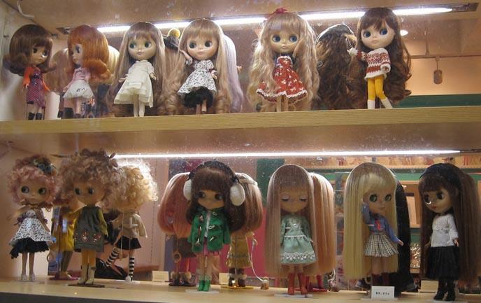 Junie Moon Blythe Doll In Daikanyama Tokyo Anese Nail Art Crazy
