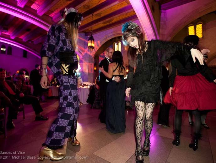DANCES OF VICE NYC STEAMPUNK GOTHIC RETRO VINTAGE PARTY