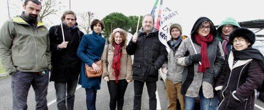 Une partie des enseignants en grève s'est réunie à Albasud avant de rejoindre la manifestation régionale organisée ce jeudi à Toulouse.