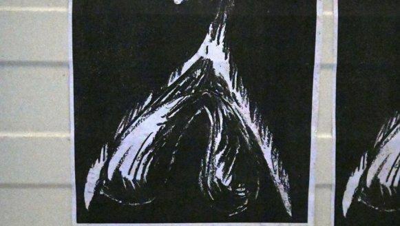 Le clitoris placardé dans les rues de Montauban