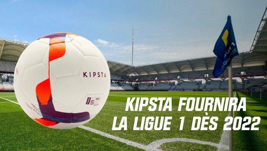 Football. Kipsta, la marque de Decathlon, va équiper les championnats de Ligue 1 et de Ligue 2