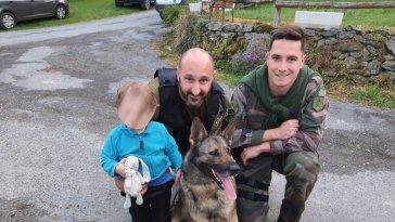 Aveyron : les gendarmes retrouvent un enfant de 2 ans perdu dans la forêt grâce à leur chien à Colombiès