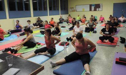 Rieupeyroux fitness center: class abstract