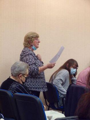 L'intervention d'Annie Bordignon a animé les débats./ Photos DDM Marc Zulian