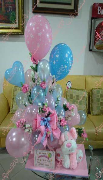 استخدام البالونات في تزيين الحفلات حنين الايام