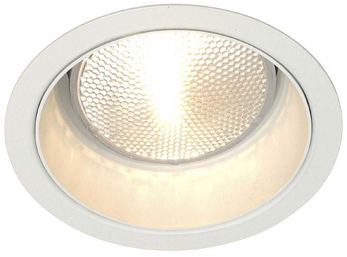 lightolier 5 line voltage white alzak recessed light trim